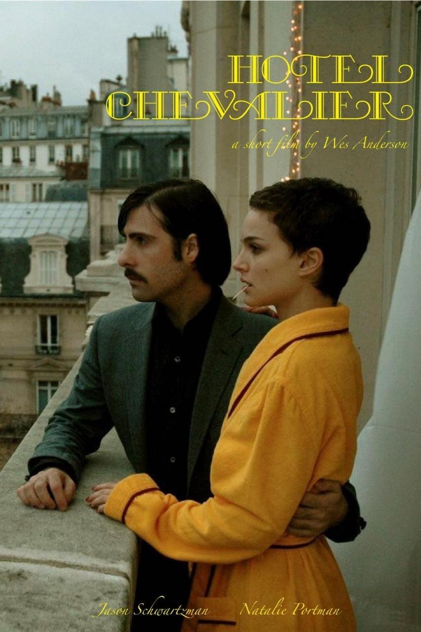 Natalie Portman x Wes Anderson