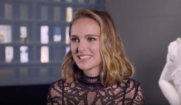 Natalie Portman at Dior Exhibition [Video]