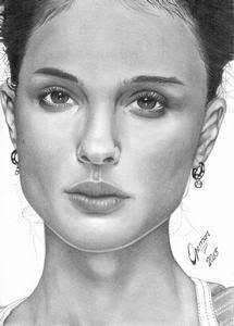 Natalie Portman Art