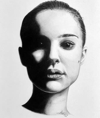Natalie Portman Drawing