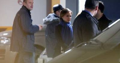 Natalie Portman heads to Moscow dinner