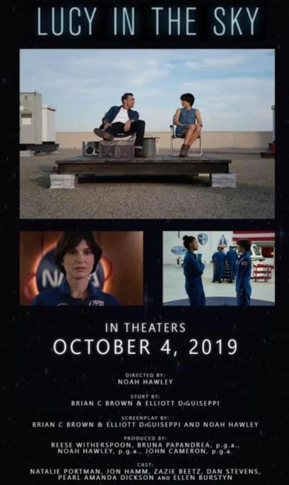 Lucy in the Sky Poster
