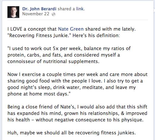 John Berardi Nate Green