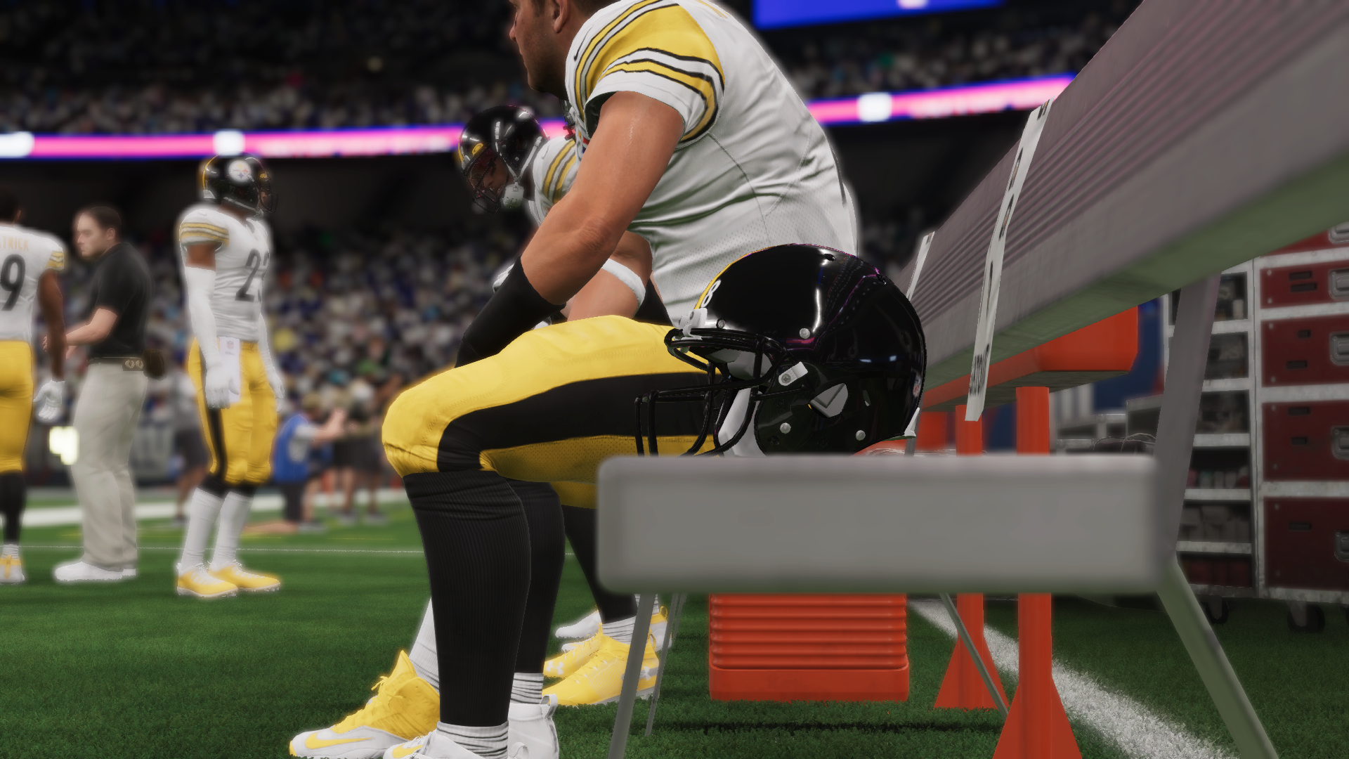 Steelers win in the Madden 21 Week 1 simulation