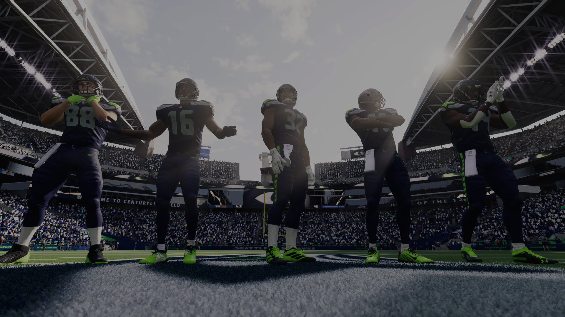 The Seahawks in Madden 21