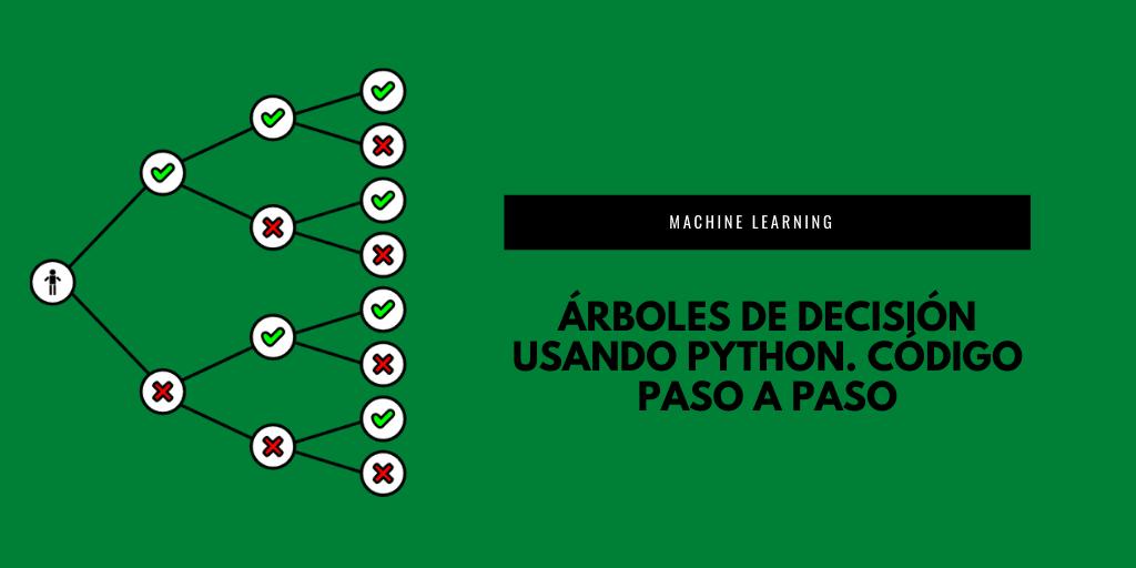 Árboles de decisión usandoPython. Código paso a paso