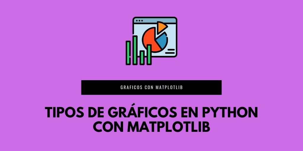 Tipos de gráficos en Python con Matplotlib
