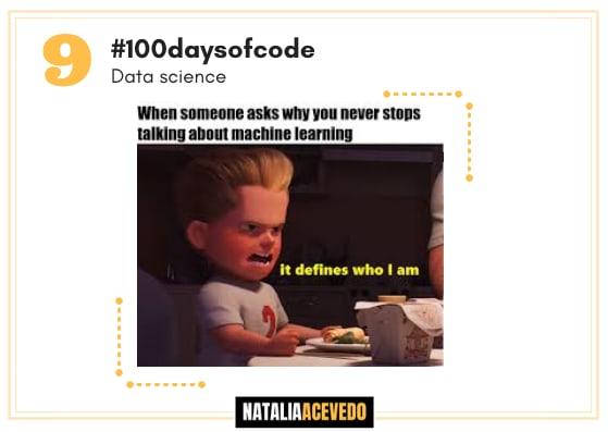 Día 9 #100daysofcode #datascience.  Preprocesamiento dedatos