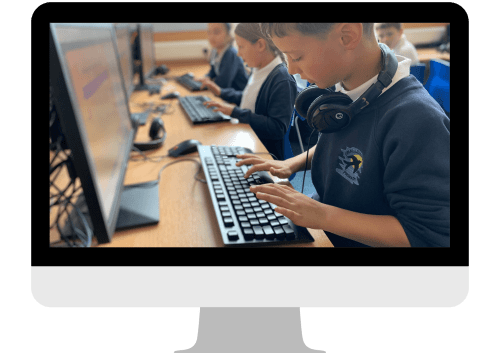 Photo of Natterhub being used in the classroom