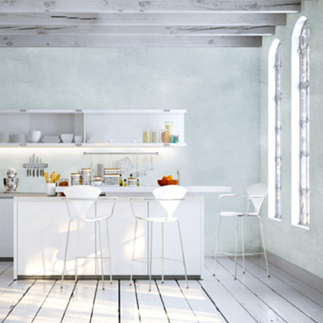 Peinture sablée dépolluante pour murs, plafonds et boiseries