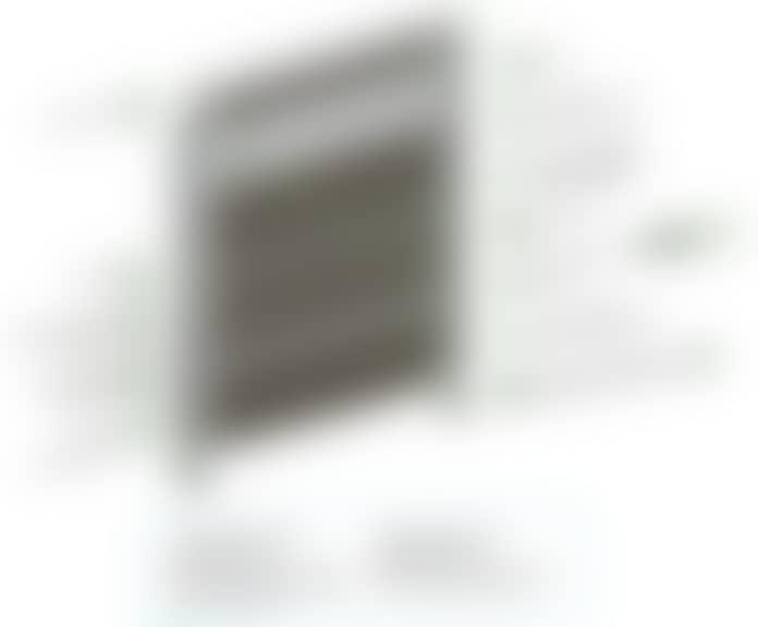schéma de pose technique de panneau de clôture claustra