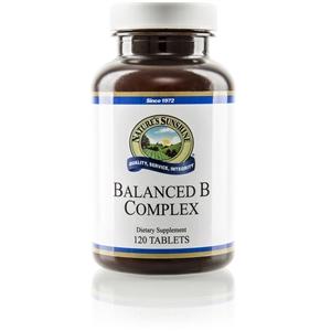 Vitamin B-Complex, Balanced (120 Tabs)