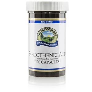 Pantothenic Acid (250 mg) (100 Caps)