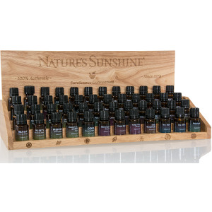 Authentic Essential Oil Wooden Retail Display