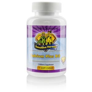 Sunshine Heroes Calcium Plus D3 (90 Soft Chews)