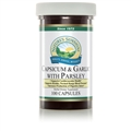 Capsicum & Garlic with Parsley (100 Caps)