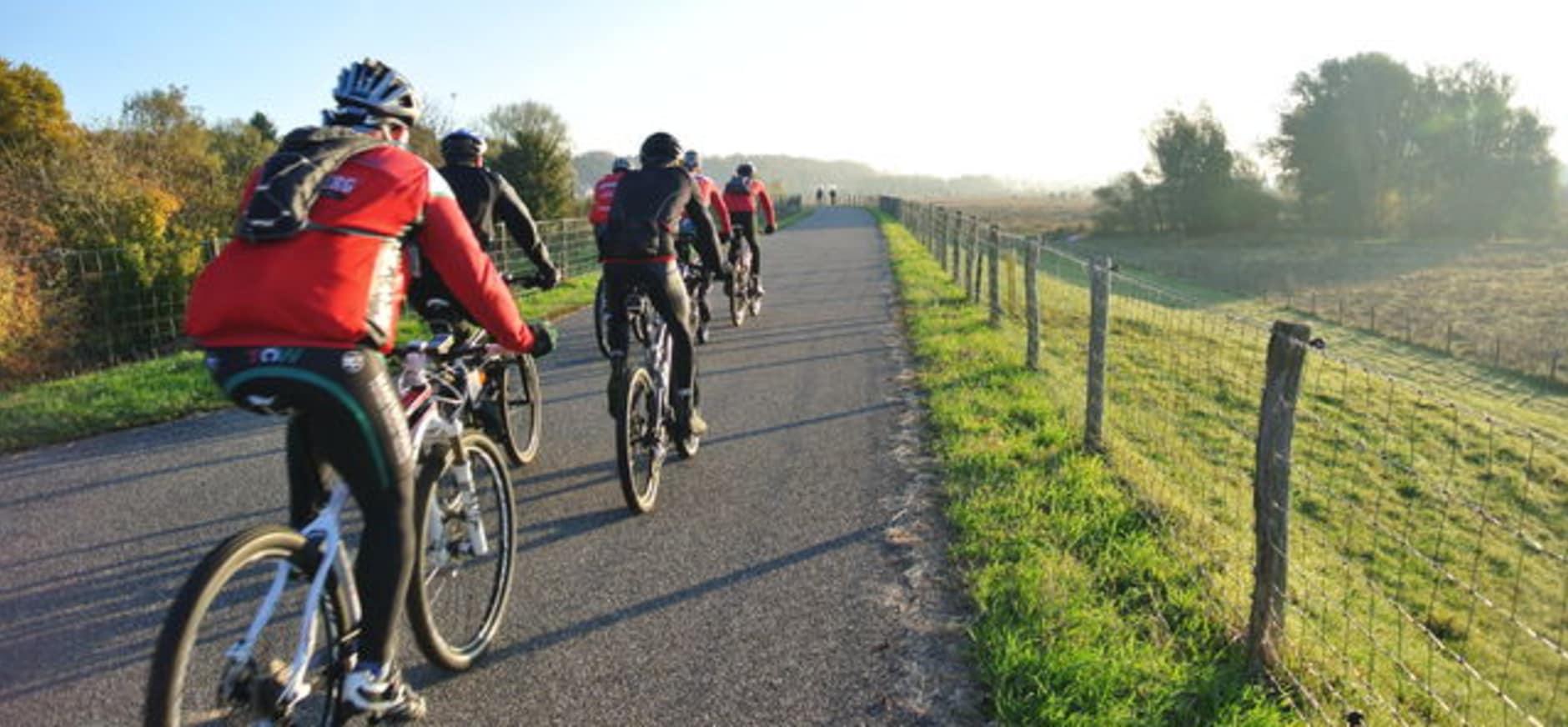 Mooij door de Ooij; fietsen en skeeleren voor een wildtunnel