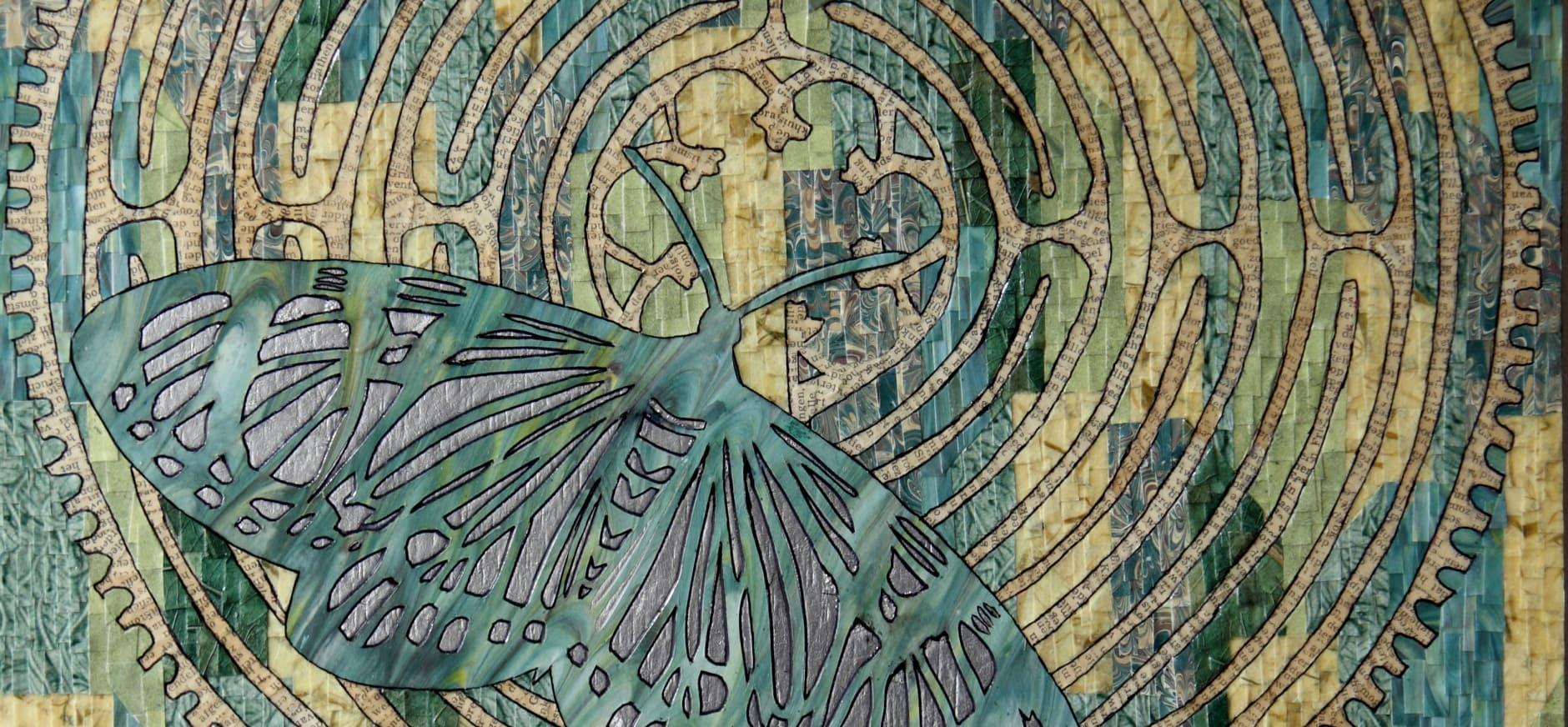 'Schilderijen van papier' in Bezoekerscentrum Nieuwkoopse Plassen