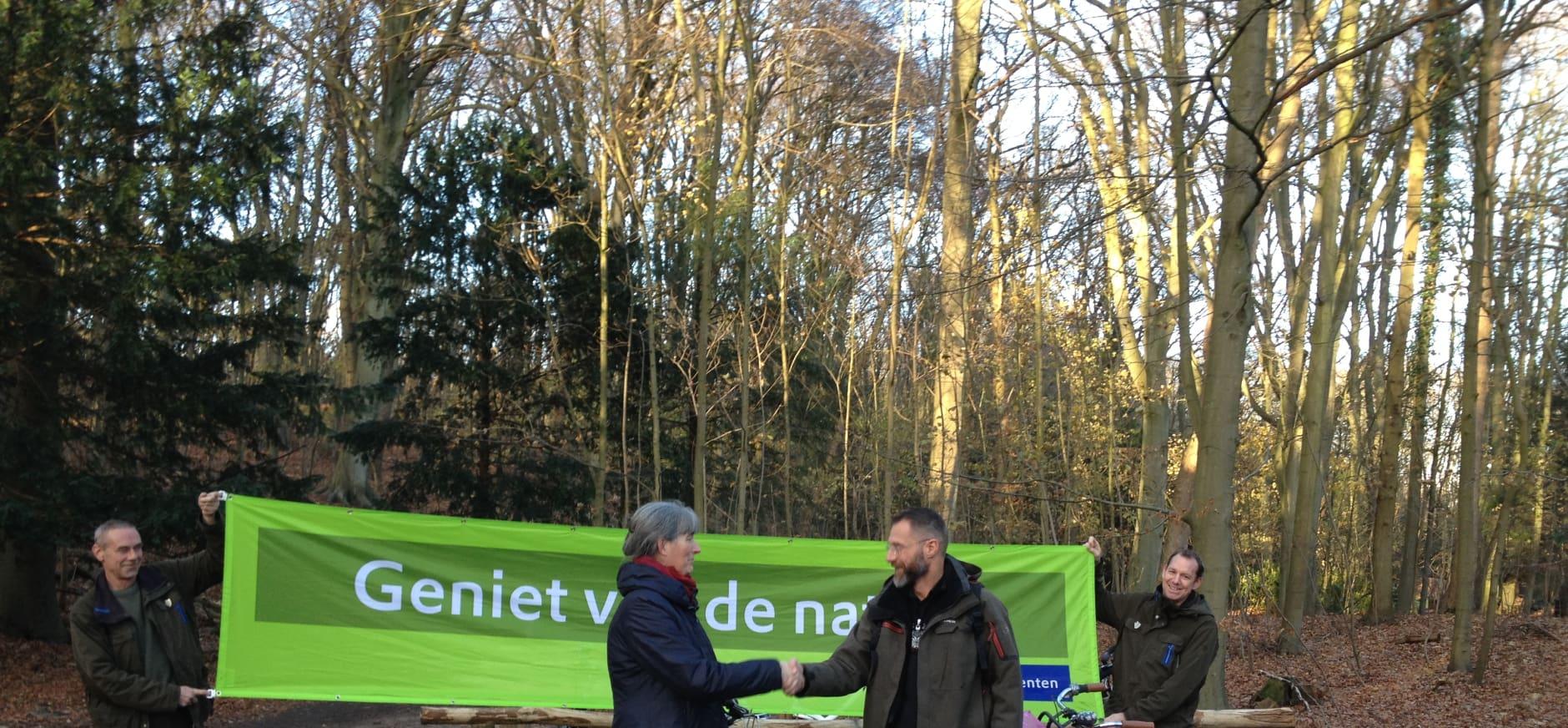 Nieuwe fietsenrekken Nationaal Park Zuid-Kennemerland