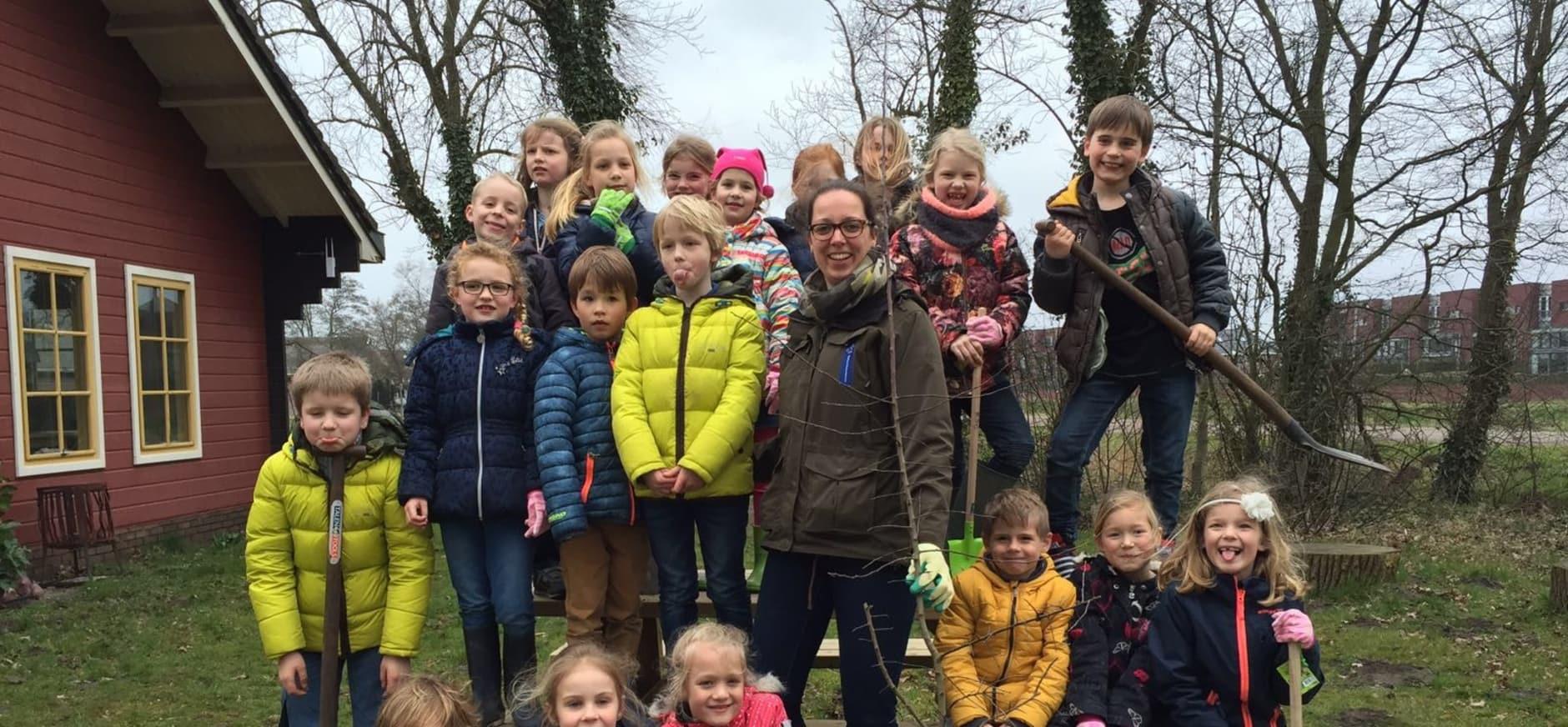 Reddingsactie voor zeldzame wilde appelboom op de Onlanderij