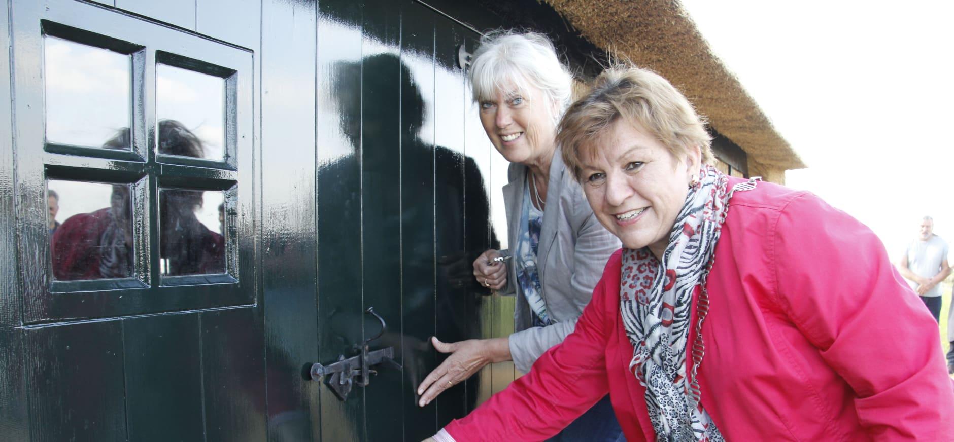 Nieuwe veenschuur voor Bezoekerscentrum De Wieden