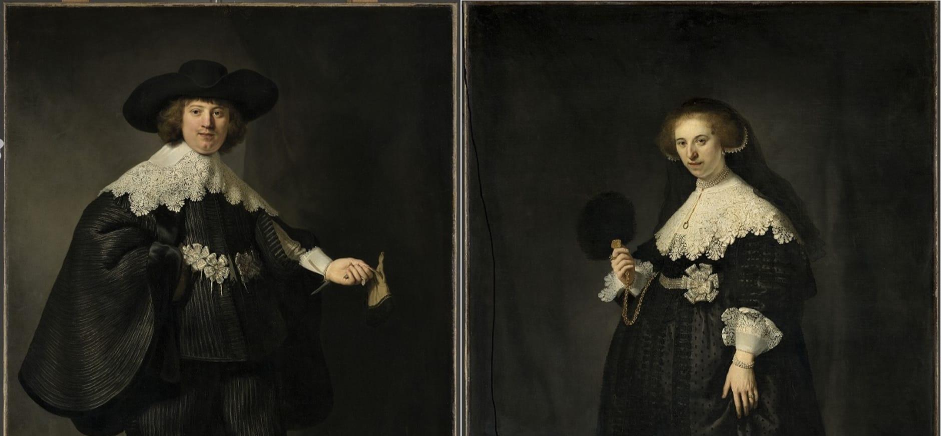 Kom kijken naar Rembrandts Marten en Oopjen