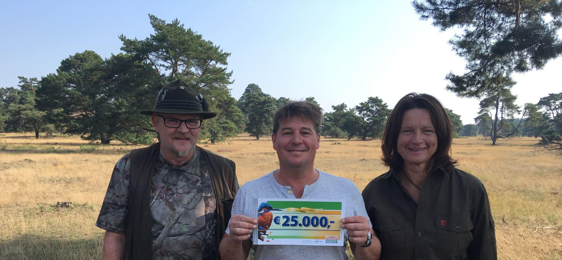 Martijn Krabbé op expeditie naar de Veluwe in 'Bestemming…'