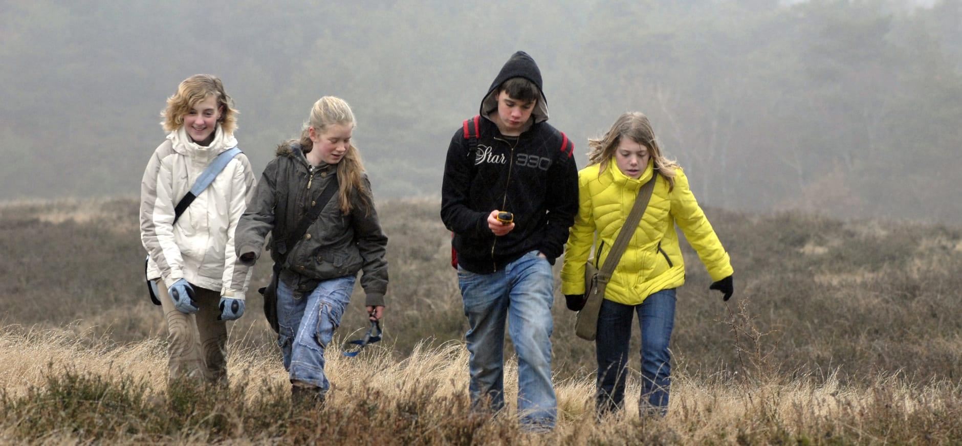 GPS ontdekkingstocht voor jongeren