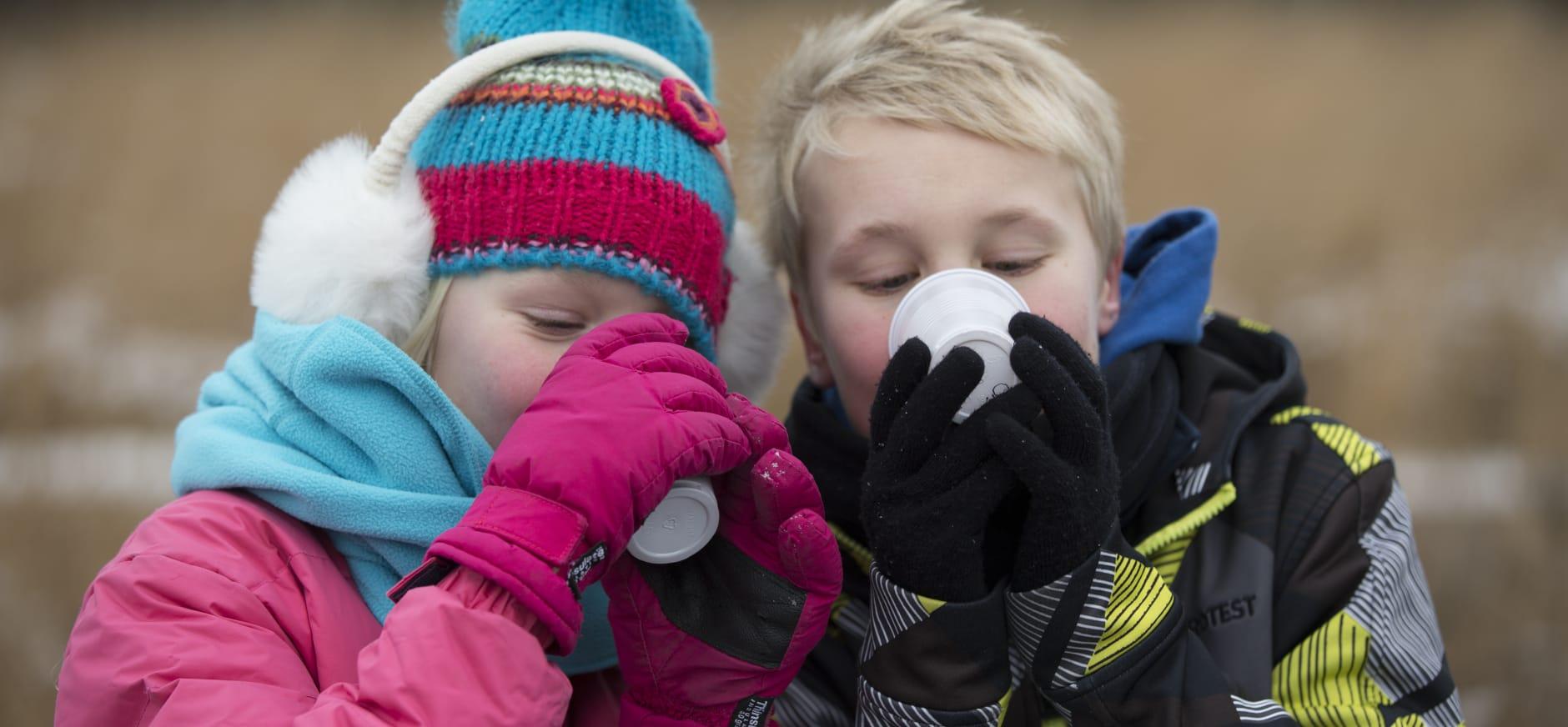 Bijzondere nieuwjaarstoost op de Veluwe bij Ermelo