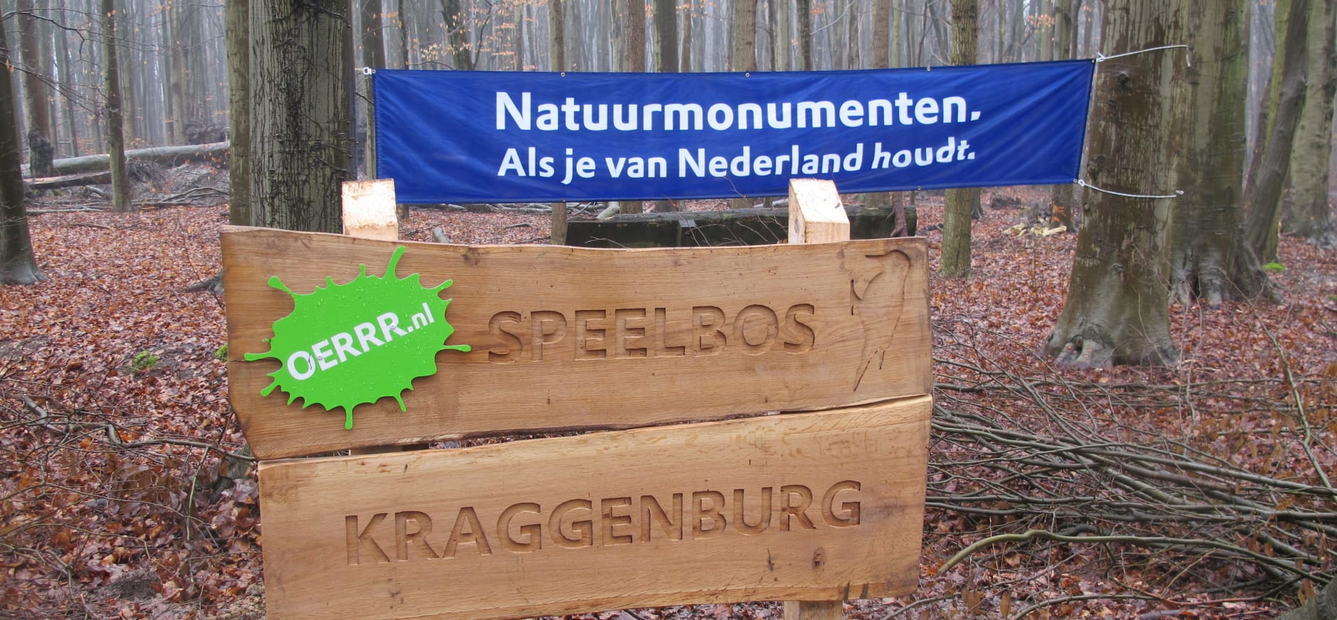 Kinderen openen Speelbos Kraggenburg