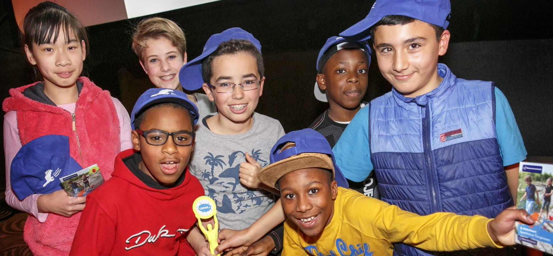 Kinderen winnen Groene OSCAR van OERRR in Rotterdam