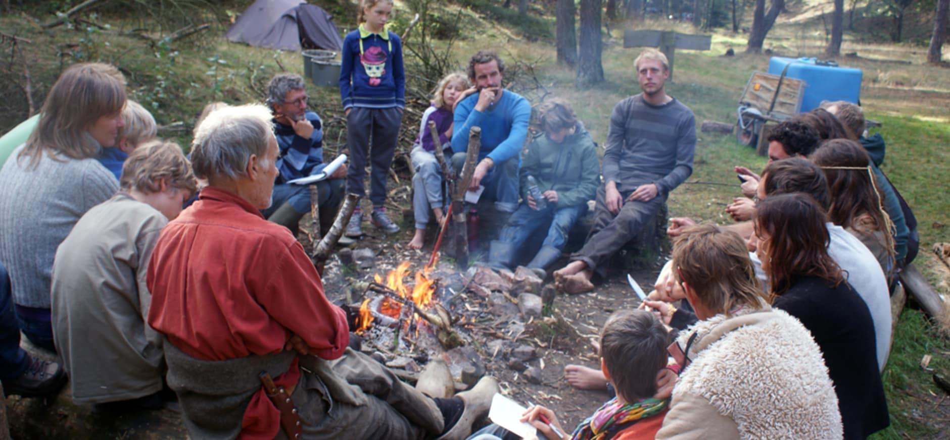 Leer overleven in de Leuvenumse bossen
