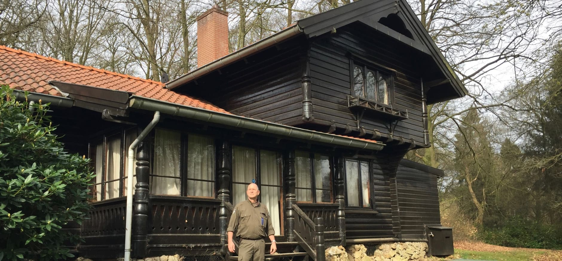 Boswachter Paul vertelt over Noorse huisje