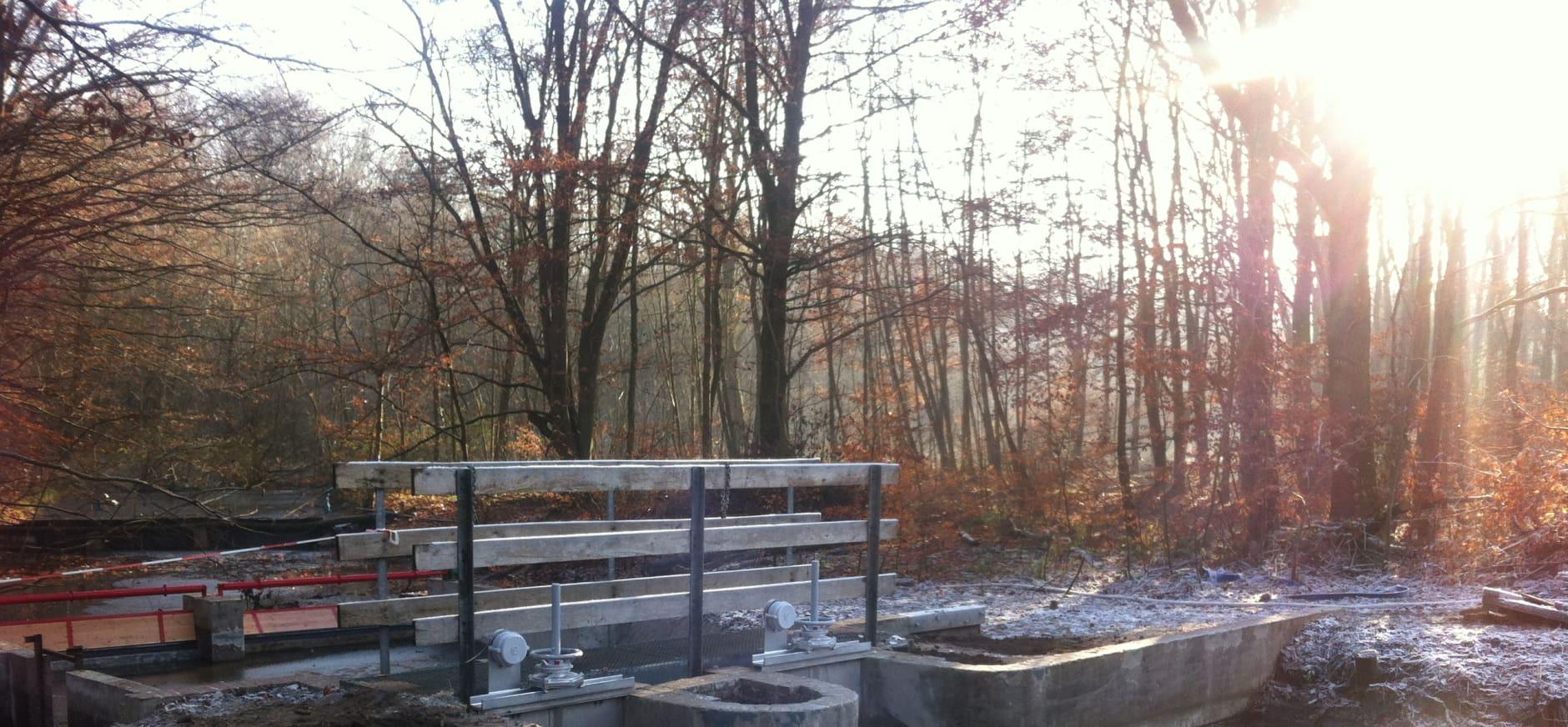 Opening gerestaureerde Romijnstuw Waterloopbos