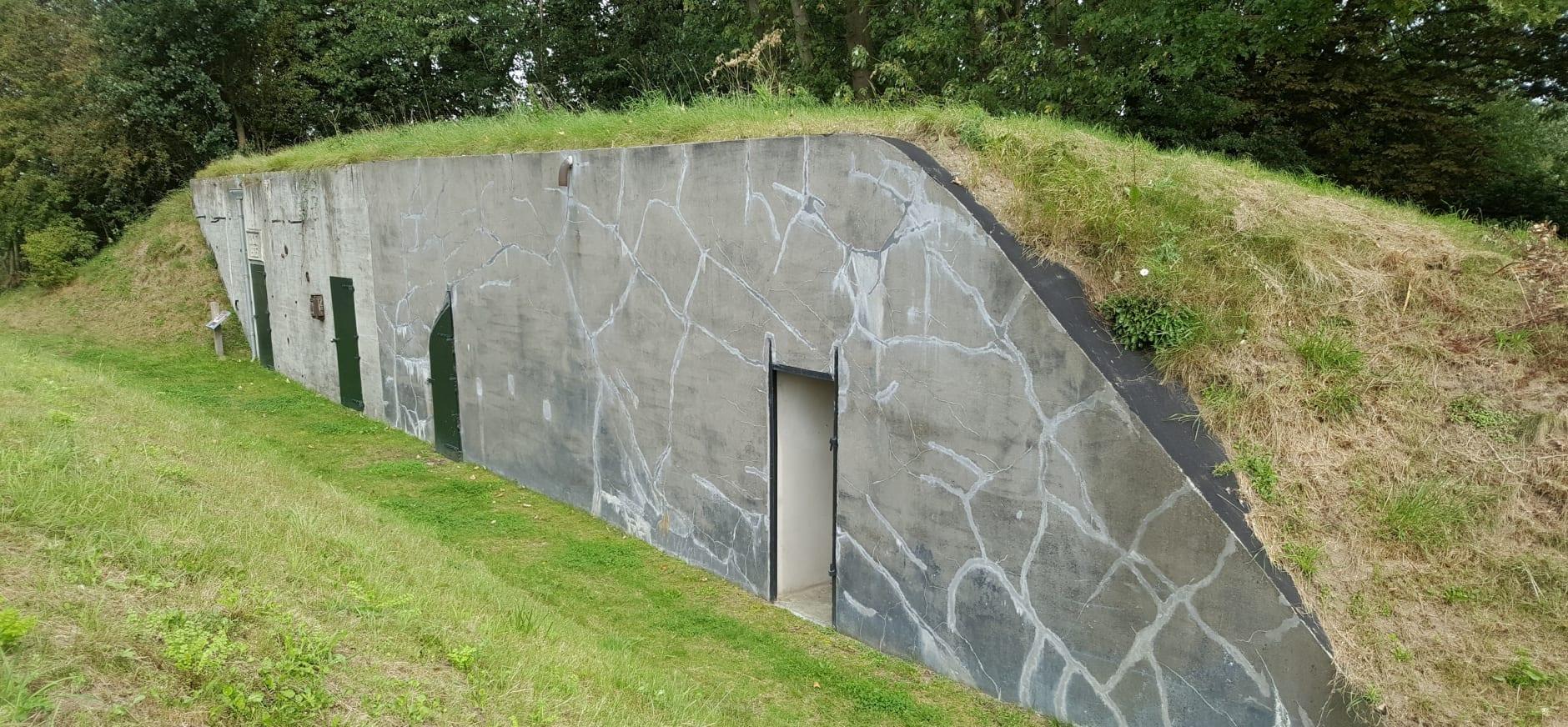 Fort Kijkuit ingericht voor baardvleermuizen