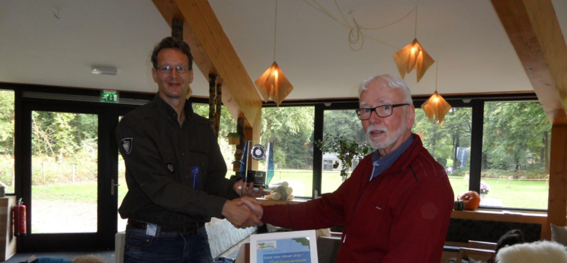 Goed voor elkaar-prijs naar route Oud Groevenbeek