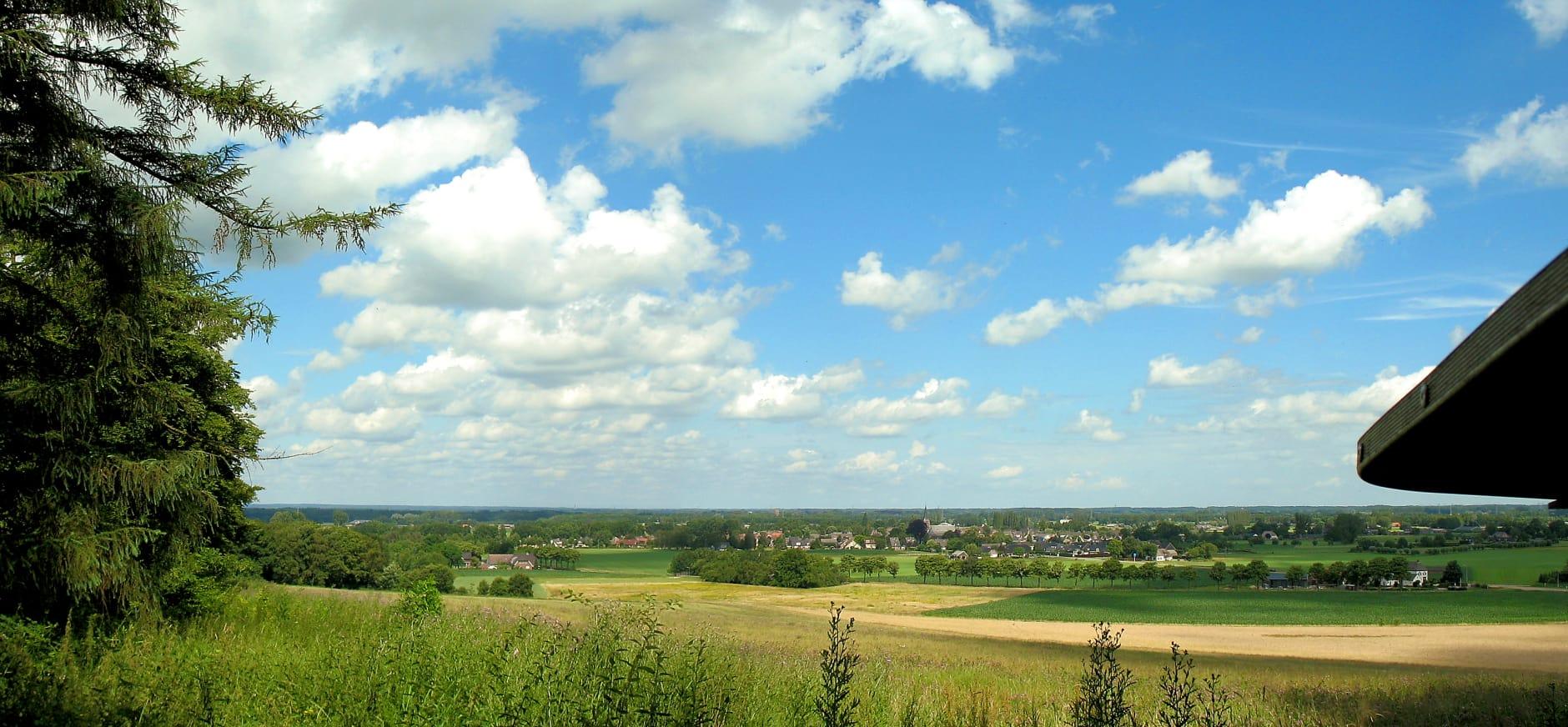De rand van het Bergherbos in Montferland.