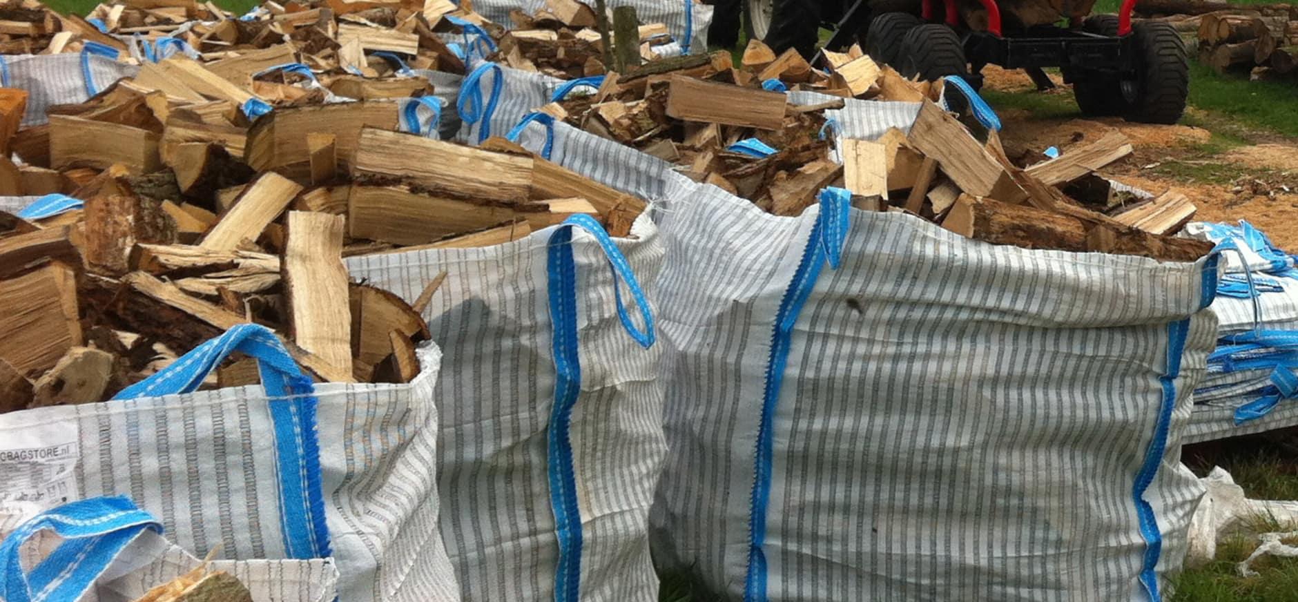 Brandhout uit het Bergherbos