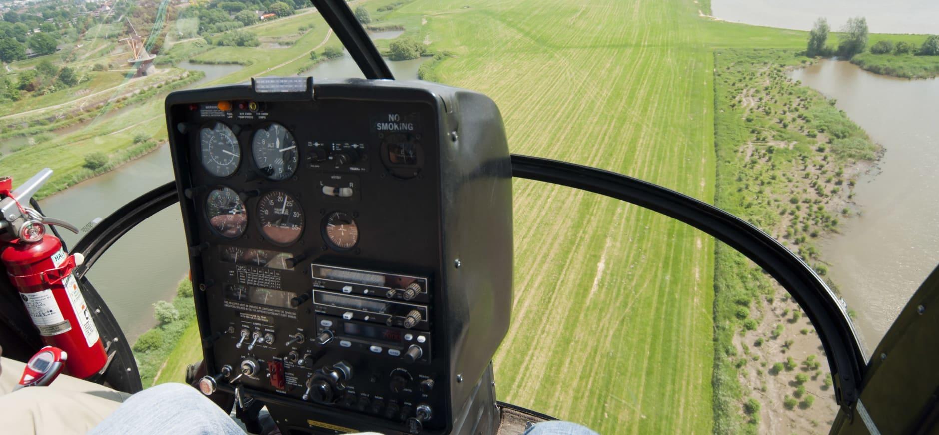 Natuurorganisaties willen geen onbegrensde helikoptervluchten bij natuurgebieden.