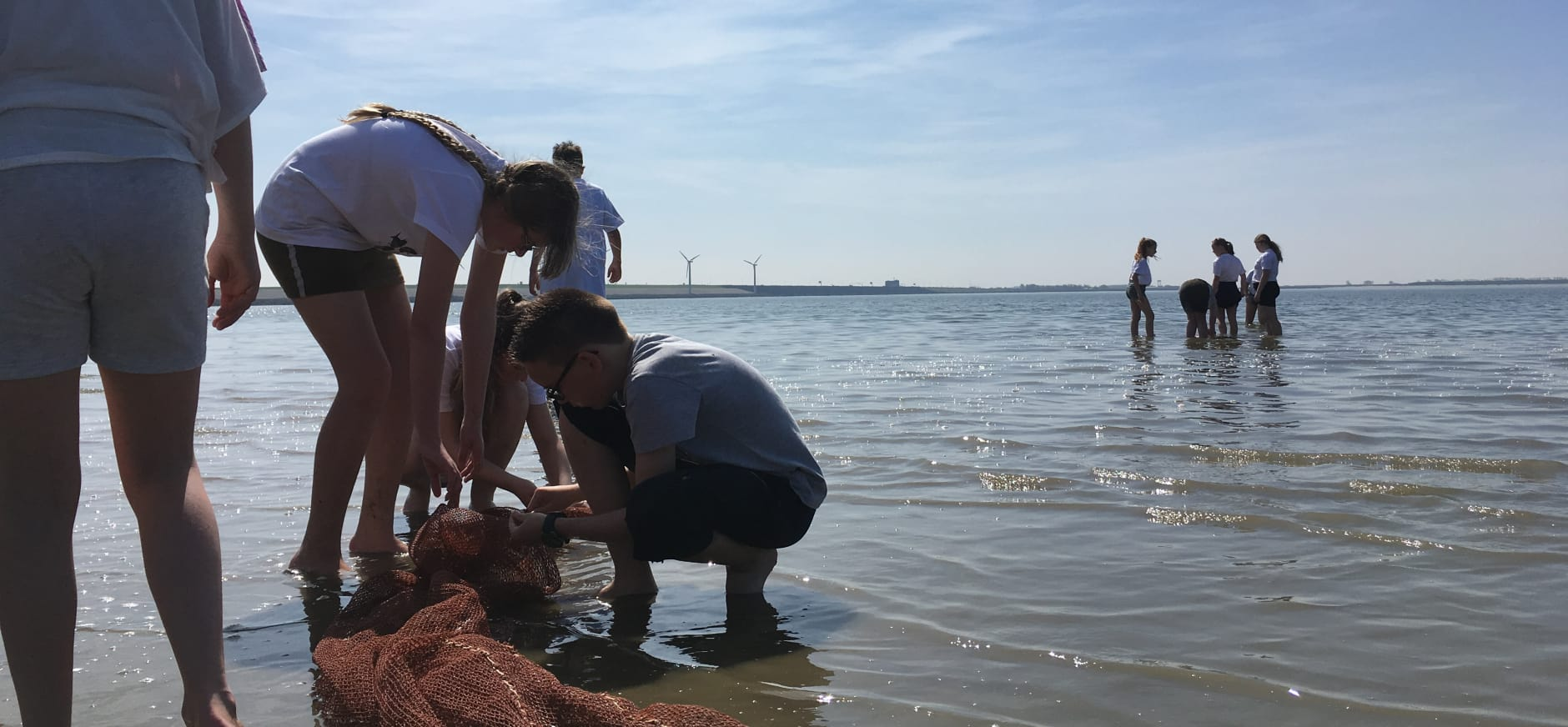 Leerlingen gaan op natuurexpeditie