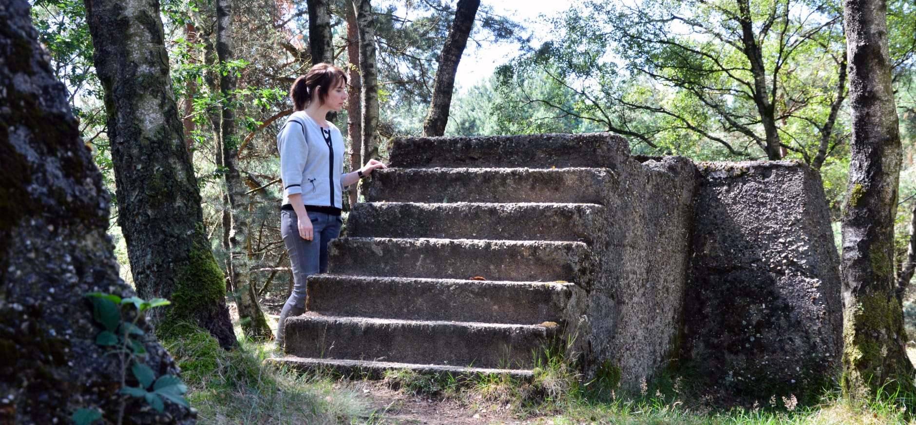 Ontdek de sporen uit de Tweede Wereldoorlog in Nationaal Park Veluwezoom