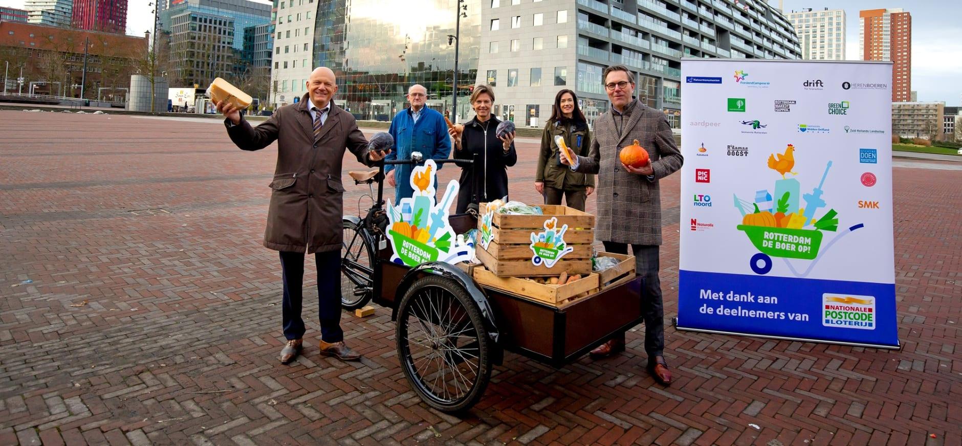 Startschot Rotterdam de boer op!