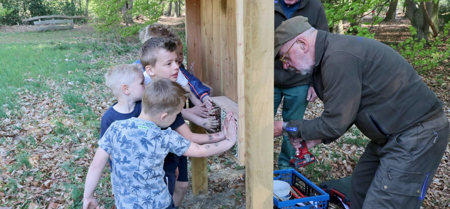 vrijwilligers kinderopvang bloesem grintenbosch