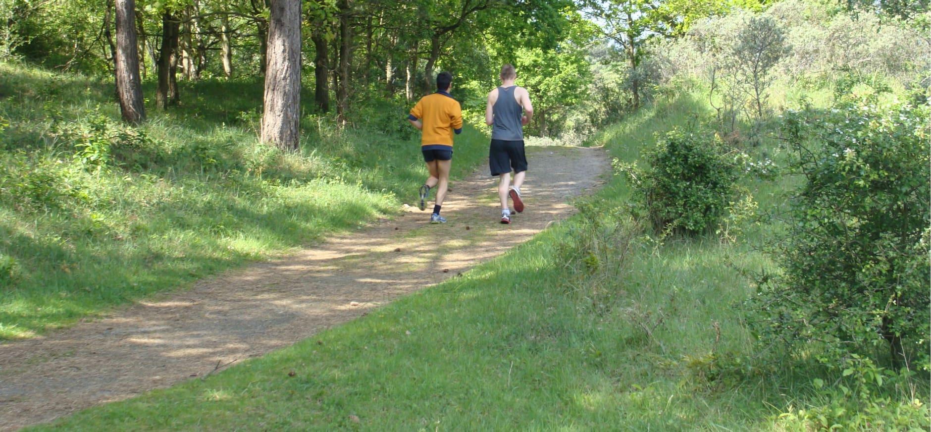 hardlopen in Duin en Kruidberg