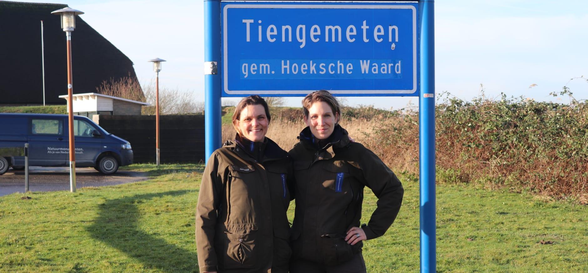 column boswachters Chantal en Annette