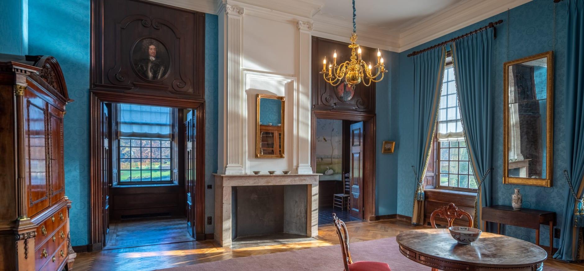 Bel-etage Blauwe kamer