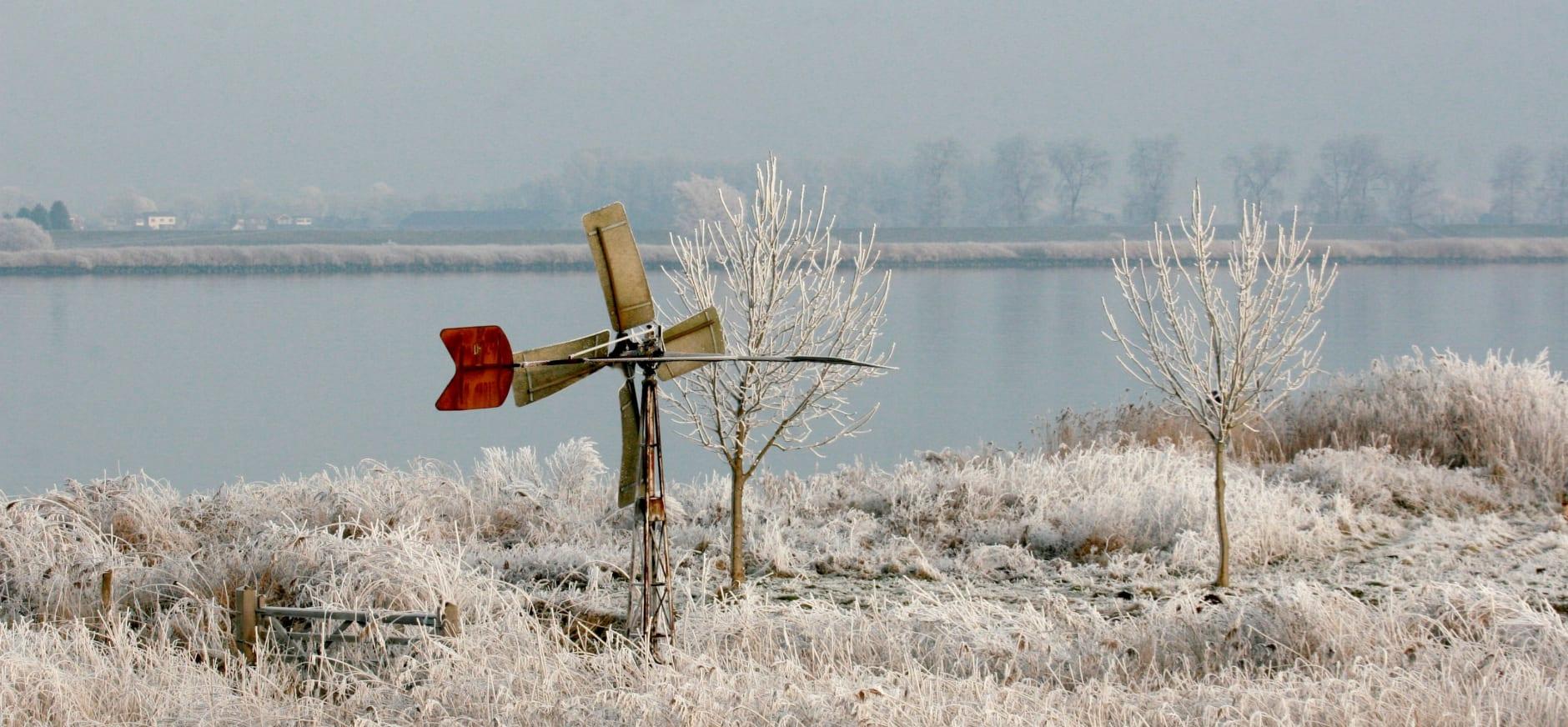 winter op Tiengemeten
