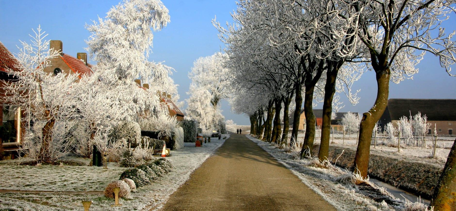 Tiengemeten in de winter