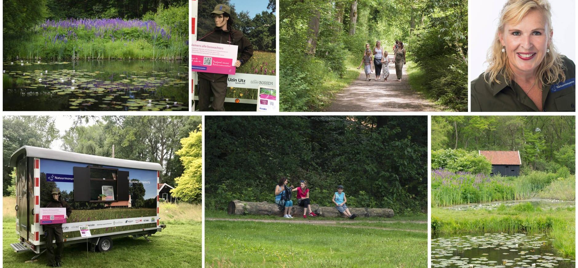 Arboretum Poort Bulten Donaties QR code