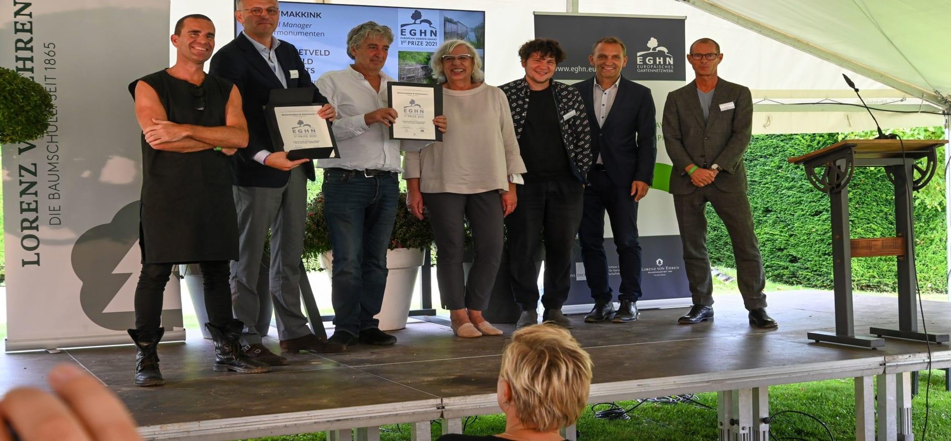 Uitreiking European Garden Award